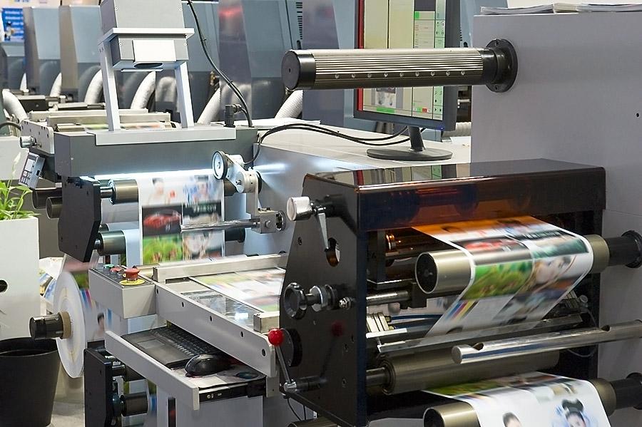 На фото: Полиграфическая промышленность на пути в следующее тысячелетие (авторский репортаж о выставке), автор: admin