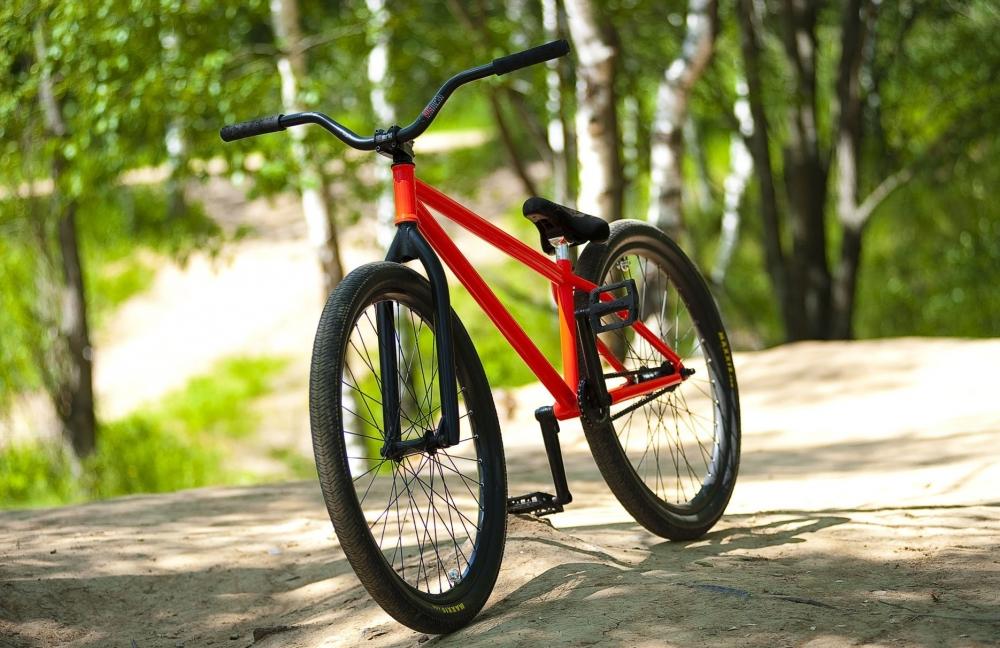 На фото: Велосипед XXI века, автор: Komissarov