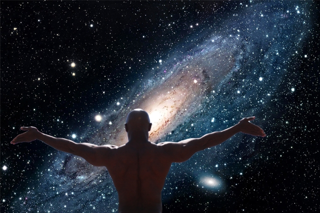 На фото: Большой взрыв и большая Вселенная, автор: Твердохлебов