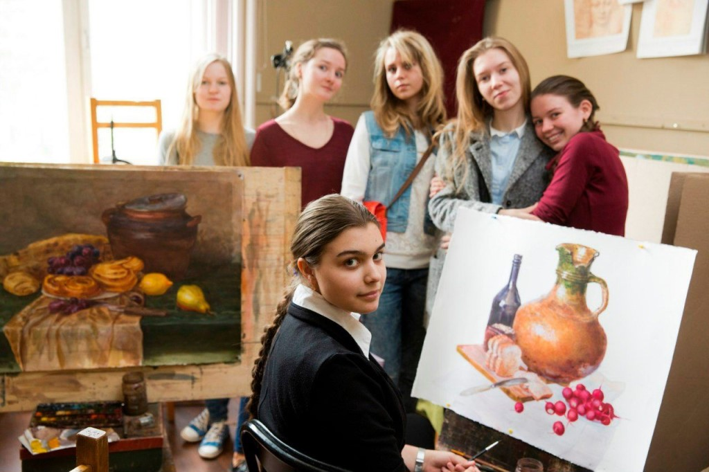 На фото: Школа в Гороховском (авторский репортаж), автор: admin