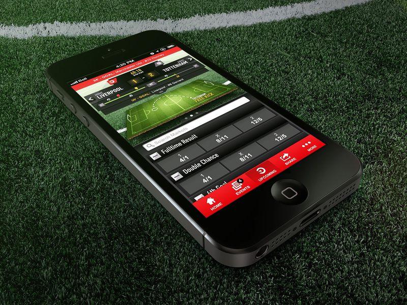 На фото: Эффективность мобильных приложений в ставках на спорт, автор: admin
