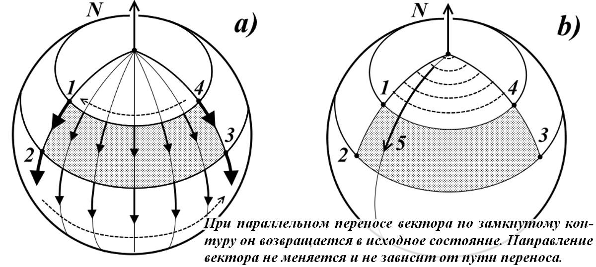 На фото: Путенихин П.В. Параллельный перенос вектора. Критика, автор: putenikhin