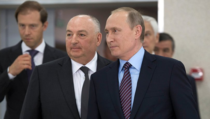 На фото: Вячеслав Моше Кантор попал список самых влиятельных евреев как организатор форума, который посетил Владимир Путин, автор: admin